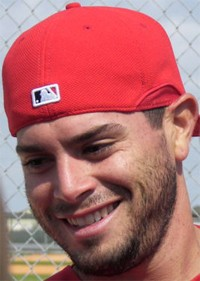 Pineiro this earlier this year at Cardinals spring training.