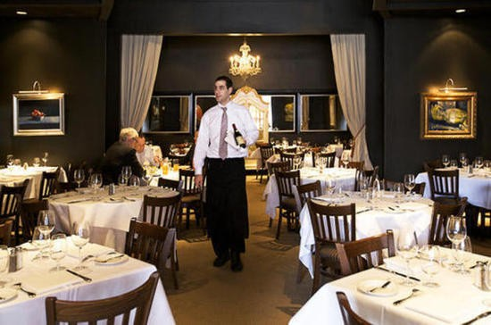 The dining room of Chez Leon in Clayton - JENNIFER SILVERBERG