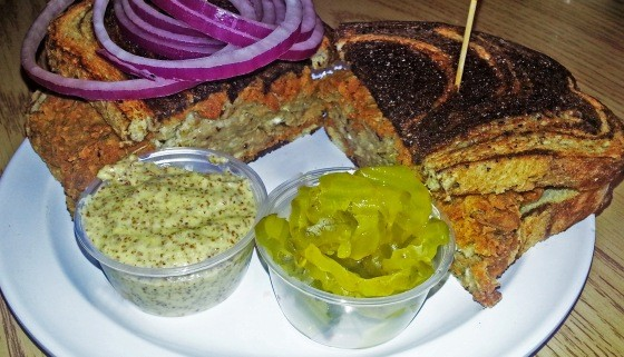 BRAIN SANDWICH AT SCHOTTZIE'S BAR AND GRILL. | MIKE CARLSON