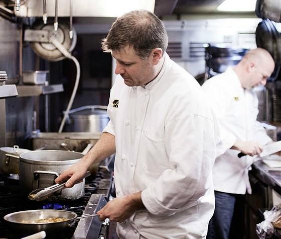 Chef Mathew Unger - JENNIFER SILVERBERG
