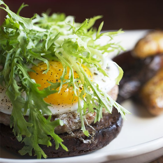 The duck burger at Planter's House | Jennifer Silverberg