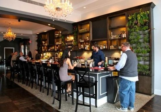The bar at Blood & Sand - HOLLY FANN