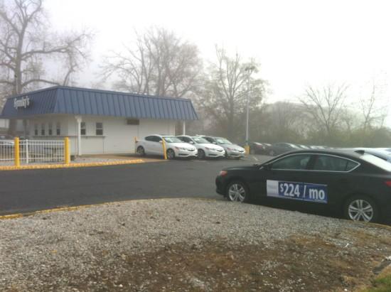 Literally put up a parking lot. - LIZ MILLER