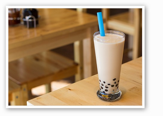 Corner 17 milk tea. | Mabel Suen
