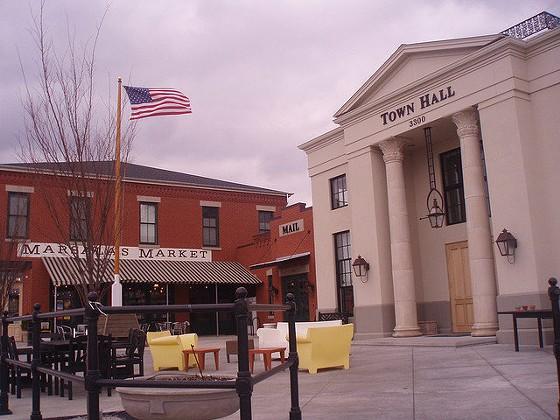 New Town's town hall. - LOLOLOLORI