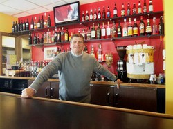 Steve Komorek of Trattoria Marcella and its new sibling restaurant, Marcella's Mia Sorella - EMILY WASSERMAN