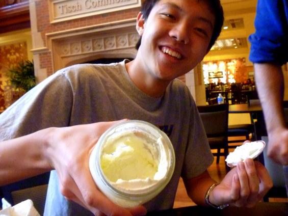 Sean Wang can't believe it's butter!