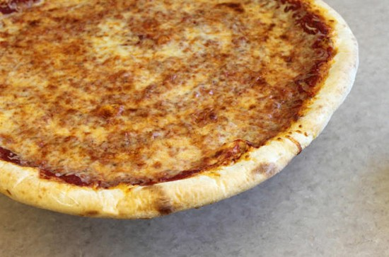 A pizza at La Pizza - KAYCI MERRITTE