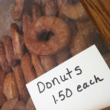 Donuts the size of your face from Mast's Bakery and Produce - HOLLY FANN