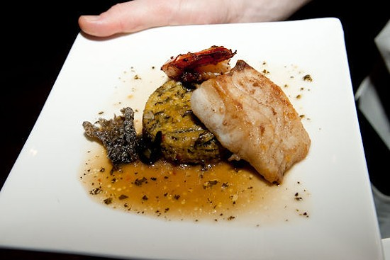 Memphis chef Kelly English's butterfish. | Jon Gitchoff
