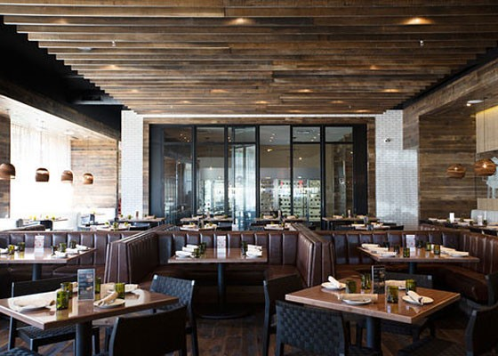 The dining room at Prasino. | Jennifer Silverberg