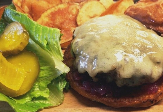 THE BURGER AT DRESSEL'S PUB | MARY MANGAN