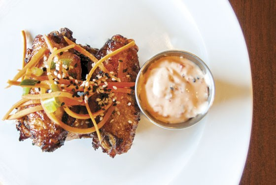 The lemongrass chicken wings at Stur. | Caroline Yoo