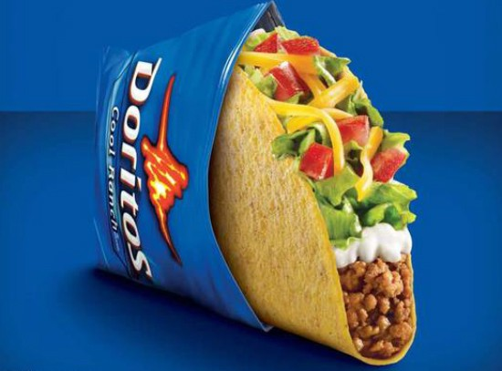 Cool Ranch Doritos Locos Tacos are coming for us all. - IMAGE VIA