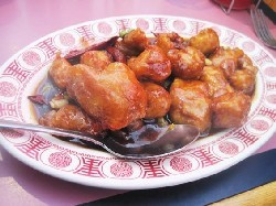 A dish from Shu Feng. - IAN FROEB