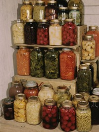 Mason jars -- not just for pickling (or drinking whiskey).