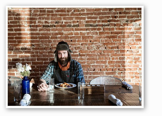 Chef John Perkins at Juniper. | Jennifer Silverberg