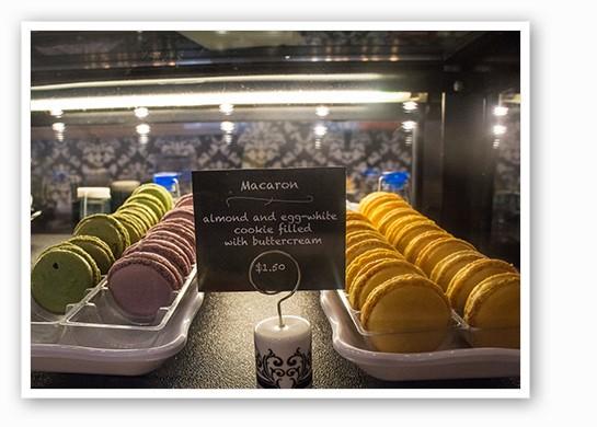 Three flavors of macarons. | Mabel Suen