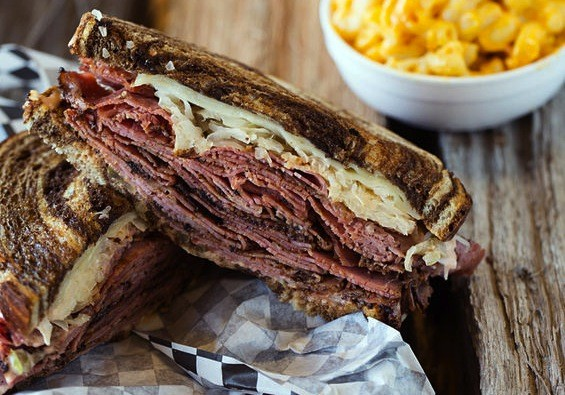 The pastrami sandwich at BBQ ASAP in Ballwin | Jennifer Silverberg