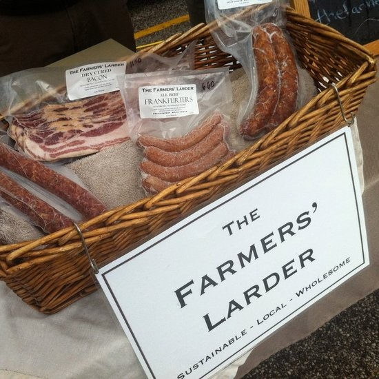 New to the farmers' market scene this year is the Farmers' Larder. - HOLLY FANN