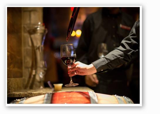 The barrel reserve.   Cooper's Hawk Winery & Restaurant