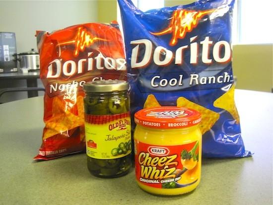 Doritos nachos: the ingredients - IAN FROEB