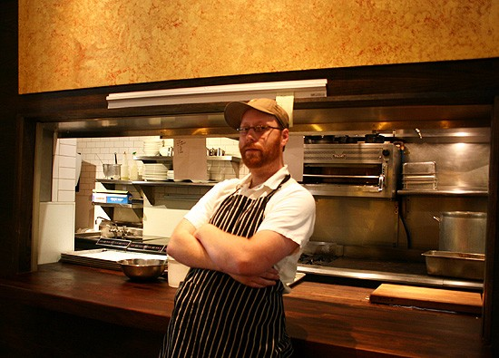 "Nate Hereford of Niche ""balances efficiency and beautiful food."" Whatchu wanna say about it? - KATIE MOULTON"