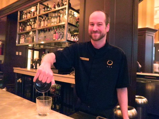 Would you try a drink called the White Nasty if it was handed to you by a guy who smiles like that? - KATIE MOULTON
