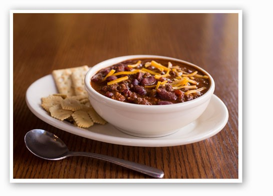 Classic chili at Blueberry Hill. | Hope Edwards