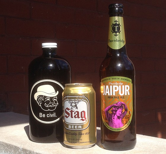 Porch-safe beer options. | Patrick J. Hurley