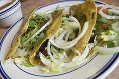 Tacos make you smart. - WIKIMEDIA COMMONS