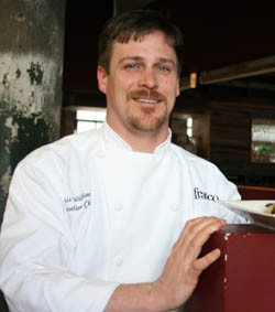 Chris Williams of Franco studied at the Culinary Institute of America in New York. - CHRISSY WILMES