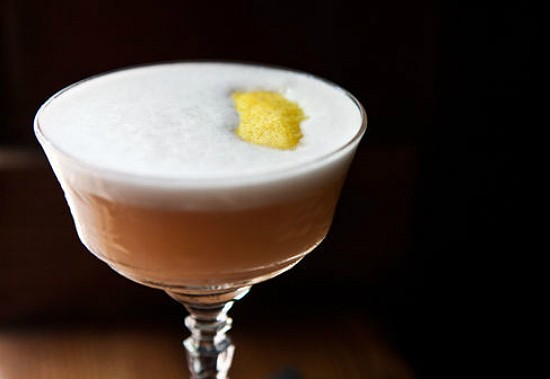 A cocktail at Taste. - LAURA ANN MILLER