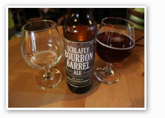 Bourbon Barrel Ale next to special release bottle. | Pat Kohm