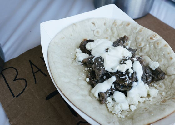 The gyro wrap at Triumph Grill. | Bryan Sutter