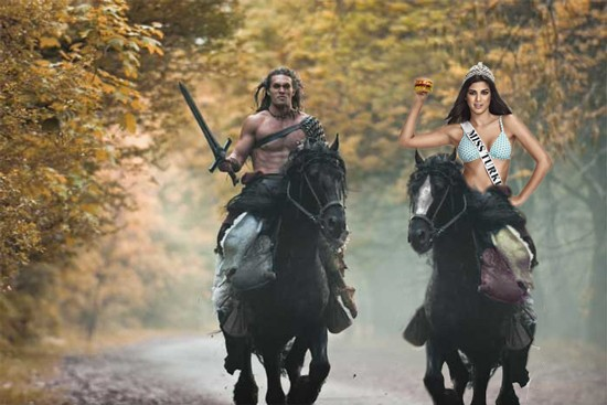 When your summer blockbuster's a surefire turkey, trotting out Miss Turkey is never a bad idea.