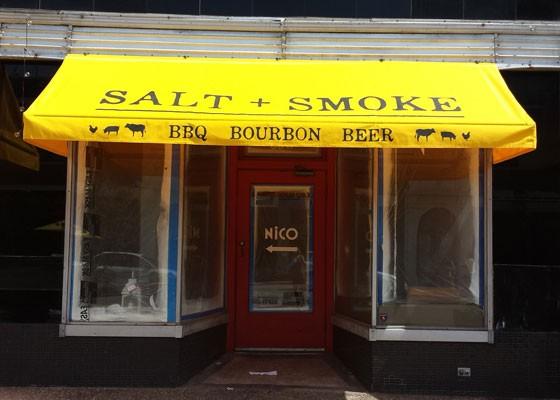 Salt + Smoke.   Jessica Lussenhop