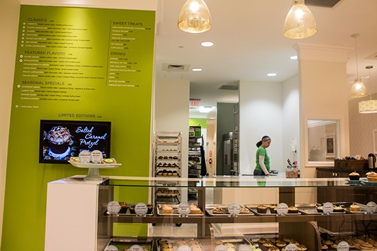 A look at the Chesterfield cupcake shop.