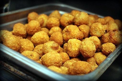 Molly's in Soulard's fried mushrooms.