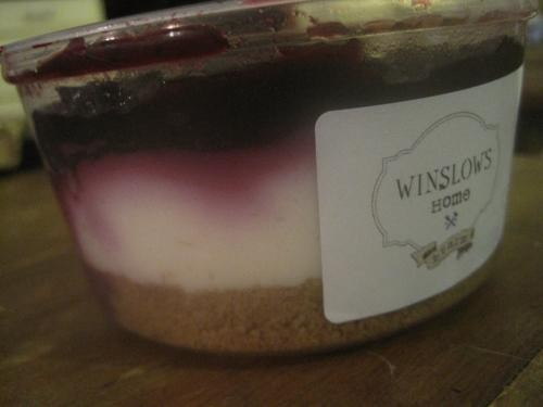 Winslow's Home bluberry no-bake cheesecake - ROBIN WHEELER