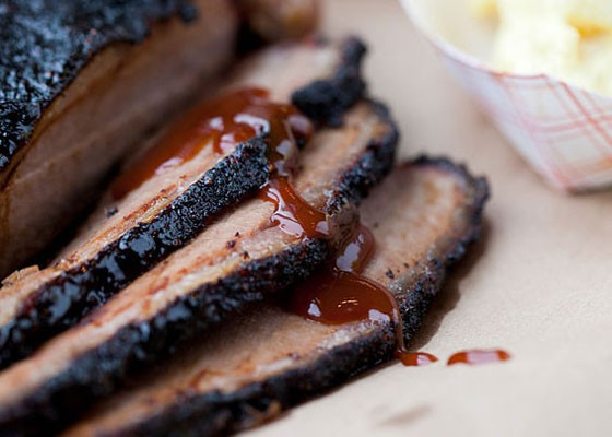Brisket at Sugarfire Smokehouse, which expanded to O'Fallon last month. | Nancy Stiles