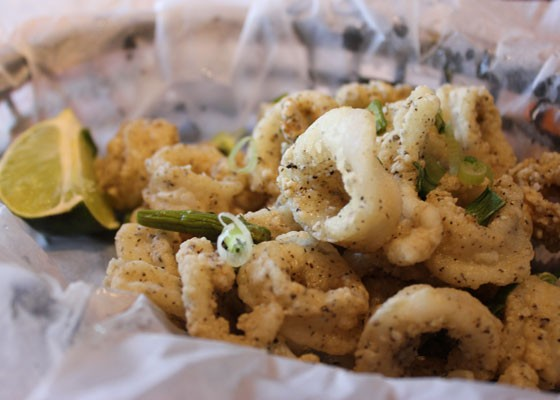 Calamari. | Nancy Stiles