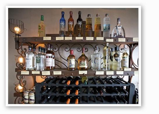Topnotch liquor is all-important at Sanctuaria. | Jennifer Silverberg