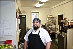 Rick Lewis, the chef of Quincy Street Bistro in south city - IAN FROEB