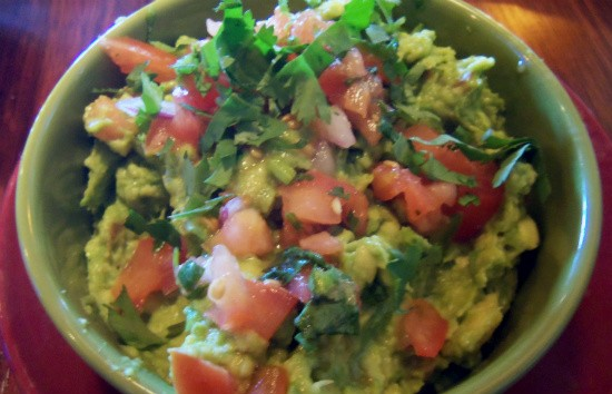 Freshly prepared guacamole at Fiesta! Modern Mexican. - EMILY WASSERMAN