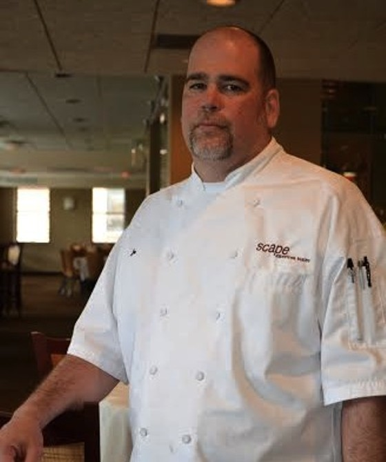 Executive chef Joe Everett of Scape American Bistro. | Courtesy Scape American Bistro