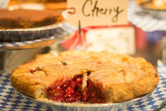 Cherry pie.