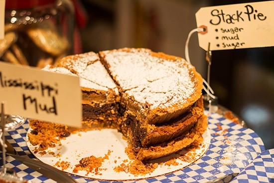Sugarfire Pie's Stack Pie.   Photos by Mabel Suen
