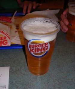 You want fries with that Burger King beer? - ALDENTEBLOG.COM