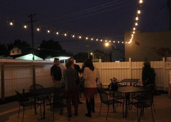 The back patio. | Nancy Stiles